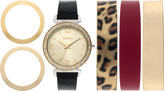 Style&Co. Style & Co. Women's Interchangeable Strap Watch Set 36mm SY013GLZ