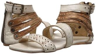 Bed Stu Artemis (Nectar Tan Lux Leather) Women's Sandals