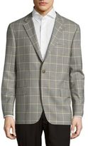 Hickey Freeman Patterned Wool Jacket