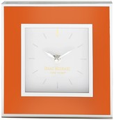 Jay Import Isaac Mizrahi Orange Clock