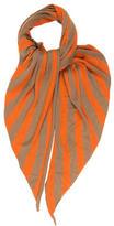 Akris Striped Cashmere Scarf w/ Tags