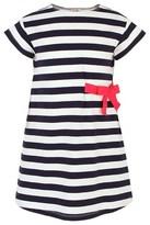 Il Gufo Striped Bow Dress
