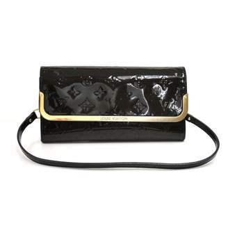 Louis Vuitton Rossmore Navy Patent leather Clutch bags
