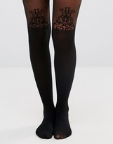 Gipsy Baroque Detail Suspender Tights