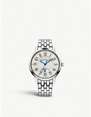 Jaeger-LeCoultre 3448110 Rendez-Vous Night & Day automatic diamond and stainless steel watch