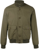 Aspesi high neck bomber jacket - men - Cotton/Polyester/Polyamide/Spandex/Elastane - XL