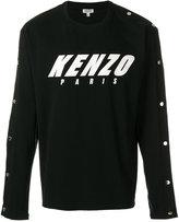 Kenzo logo print top