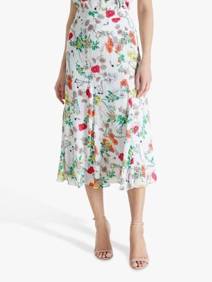 Fenn Wright Manson Noemie Floral Midi Skirt, Meadow Print