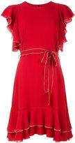 L'Autre Chose ruffled dress - women - Silk - 38