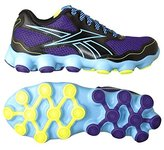 Reebok Atv19 Zoom Ppl/Blk/Blu Girls Running Shoes
