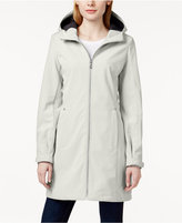 Calvin Klein Hooded Water-Resistant Lightweight Raincoat