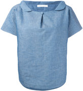 Societe Anonyme Buttoned wide collar shirt - women - Cotton - One Size