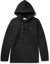 Acne Studios Florida Oversized Fleece-Back Cotton-Blend Jersey Hoodie