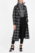 Isabel Marant Ina Check Coat