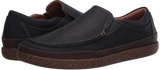 Clarks Un Lisbon Twin (Brown Oily Leather) Men's Shoes