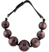 Marc Jacobs Beaded Collar Necklace