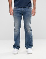 Diesel Zatiny Bootcut Jeans 857N Light Wash