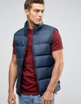 Jack Wills Nylon Lux Insulated Vest Quilted