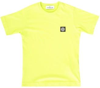 Stone Island Junior Basic S/s T-shirt W/logo