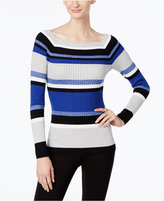 INC International Concepts Striped Sweater, Only at Macy's