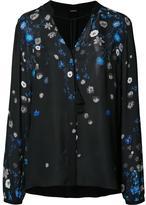 Elie Tahari floral print shirt - women - Silk - L