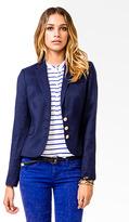 Forever 21 Nautical Button Blazer