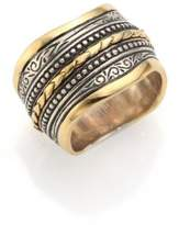 Konstantino Hebe 18K Yellow Gold & Sterling Silver Ring