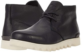 Sorel Kezar Chukka Waterproof (Black Full Grain Leather) Men's Boots