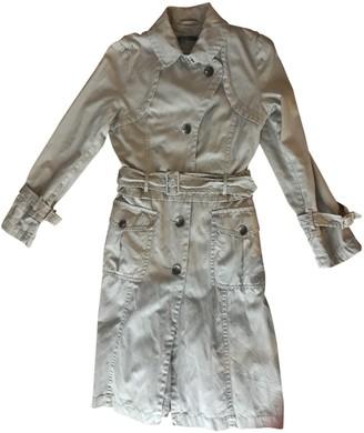 Hallhuber Beige Cotton Trench Coat for Women