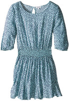 Splendid Littles Ditsy Dot 3/4 Sleeve Dress (Big Kids)