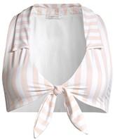 Weworewhat Salerno Longline Bikini Top