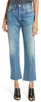 RE/DONE Women's High Waist Stove Pipe Jeans