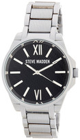 Steve Madden Women's Analog Alloy Bracelet Watch
