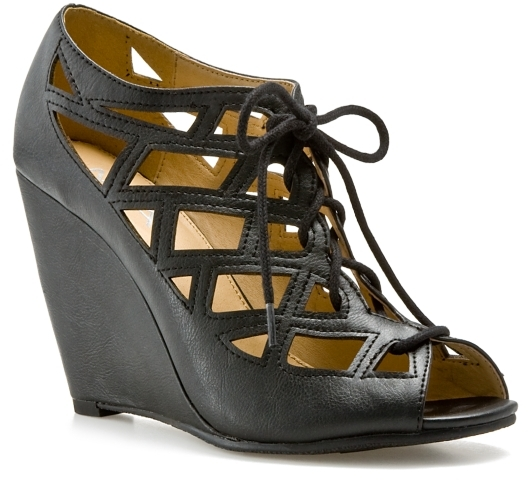Thumbnail for your product : Mia Quincy Wedge - Black