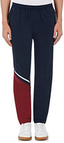 UAS - Under Armour Sport Men's Tumble Colorblocked Nylon Track Pants-NAVY
