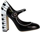 Dolce & Gabbana Black vally Mary Jane High Pumps