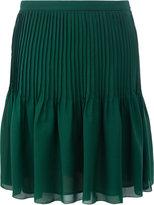 Oscar de la Renta pleated skirt - women - Silk - 6