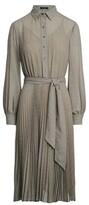 Thumbnail for your product : Lauren Ralph Lauren Ralph Lauren Herringbone Georgette Shirtdress