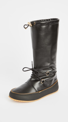 J.W.Anderson Tall Lace Up Boots