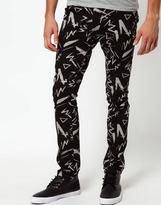 Asos Super Skinny Jeans With Print