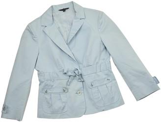 Tara Jarmon Blue Cotton Jacket for Women