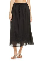 Tory Burch Embroidered Cover-Up Skirt