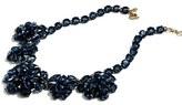 J.Crew Women's Navy Crystal Necklace