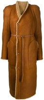 Rick Owens belted coat