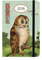 Cavallini & Co. Cavallini AG2016/VINOWL 2016 Vintage Owls Weekly Planner