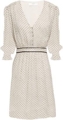 BA&SH Fil Coupe Silk-georgette Mini Dress