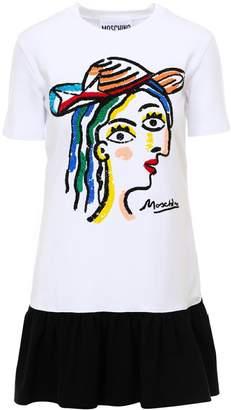 Moschino Sequinned T-Shirt Dress