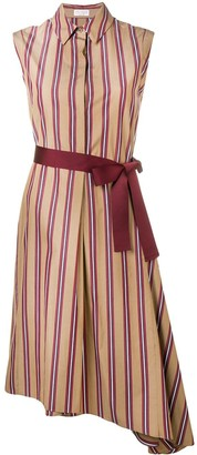 Brunello Cucinelli Striped Shirt Dress