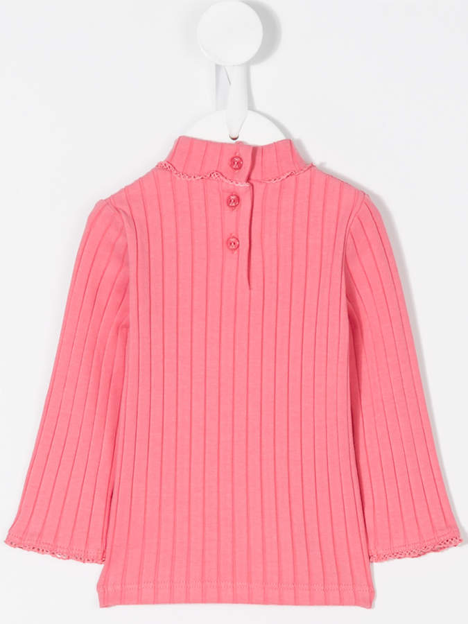 Lili Gaufrette ribbed-knit top