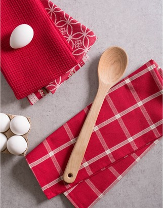 Design Imports 5-Piece Kitchen Towel & Dishcloth Set